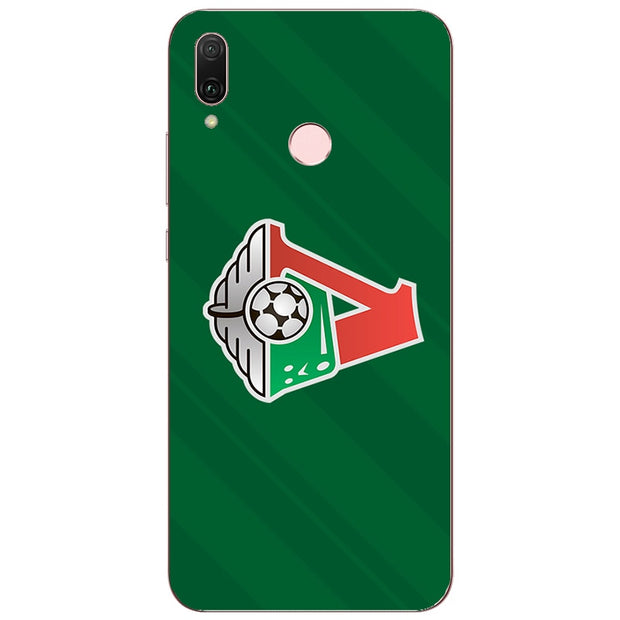 FC Lokomotiv Moscow Football Logo Painting Case For Huawei P20 Lite Pro Y9 2019 Honor 8C 8X Max Phone Printed Cover