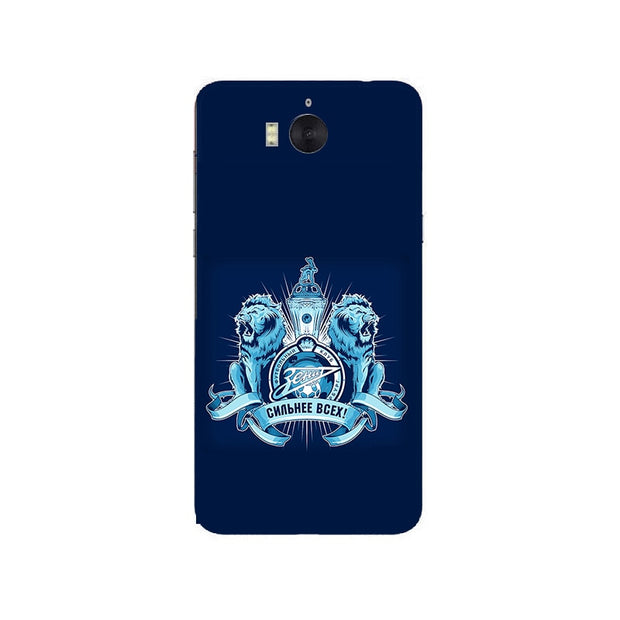 FC Zenit Football Club Logo Soft Silicone Painting Case For Huawei Y5 2017/Y5 III 3/Y6 2017/Nova Young Phone Printed Skin