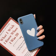Fashion Cute Cartoon Love Phone Case For IPhone 6 6S 7 8 Plus X XR XS MAX Funny Festival Christmas Back Phone Cover Fitted Cases