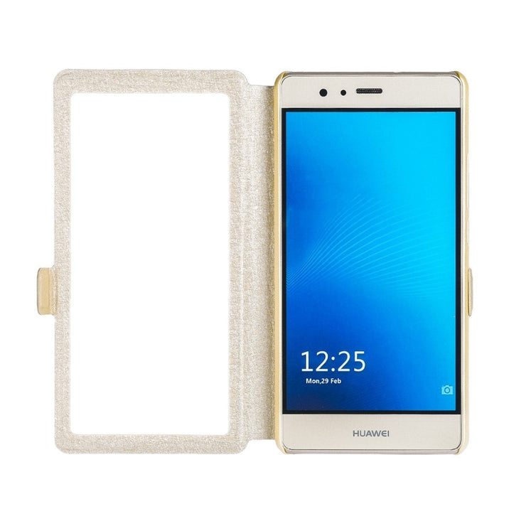 Fashion Leather Stand Full View Windows PU Phone Case For Cubot Magic Flip Cover Protecive