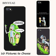 Fashion Rick And Morty Cartoon Soft Silicone Painting Case For Xiaomi Redmi 4A 4X 5A 6 6A 4 Pro Smart Cell Phone Printed Cover