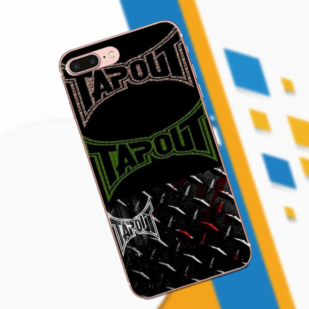 Fashion Tapout Ufc Mma Men Soft TPU Phone Cases Covers For Xiaomi Redmi Note 2 3 3S 4 4A 4X 5 5A 6 6A Pro Plus