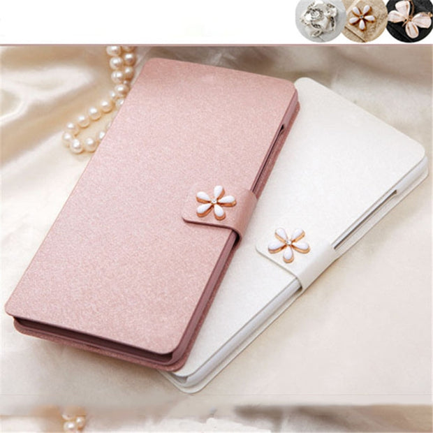 For Alcatel 1 5033d Case 5.0 Inch New Luxury Ultra-Thin Flip PU Leather Phone Cases For Alcatel 1 5033d Phone Stand Bags Case