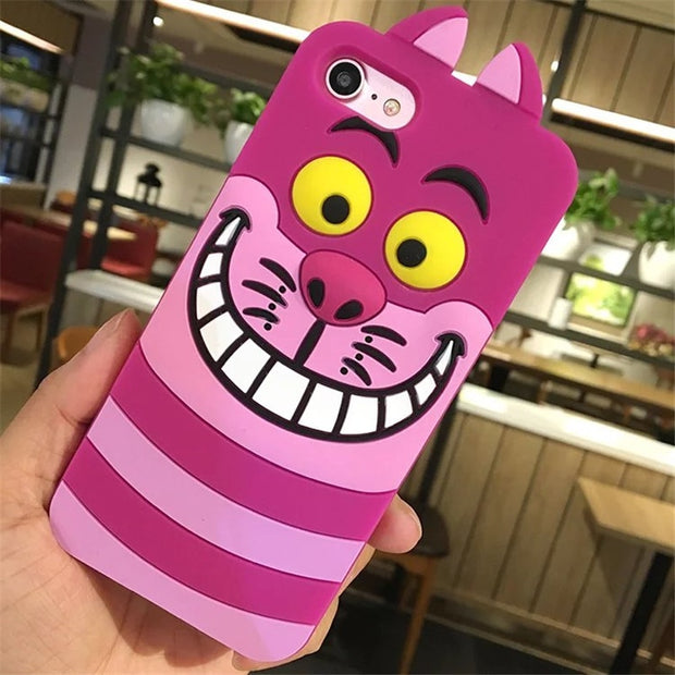 For Apple IPhone 6 6s 6plus 7 8 Plus Cute Cartoon Unicorn Cat Rabbit Soft Silicone Case For Iphone X XS Max Xr 7 8 6 5 5S SE 5C