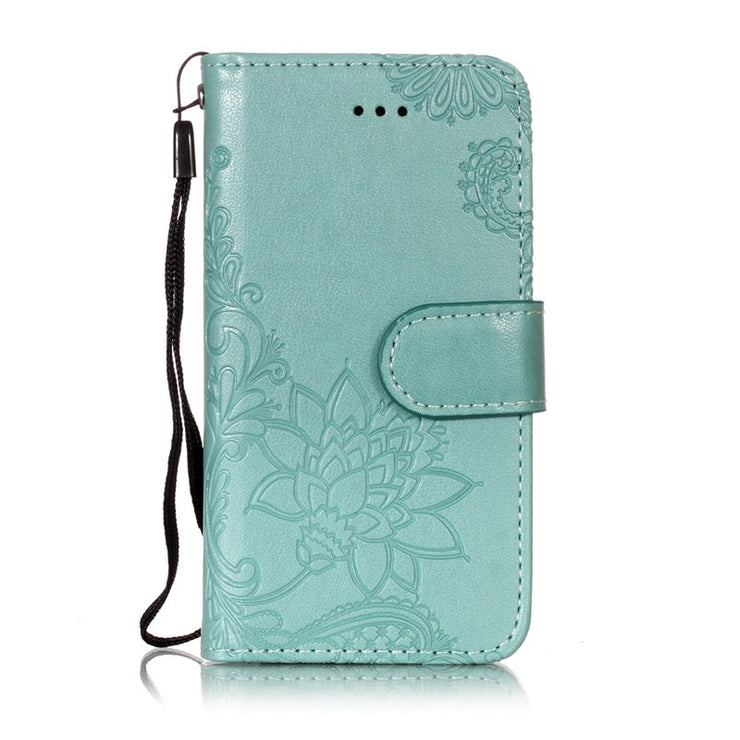 detailed look f6f7b dc2ed For Apple IPod Touch 5 Touch 6 Case Back Covers Embossing Pure Color PU  Leather Wallet Cases Flip Cover Stand Mobile Phone Bags