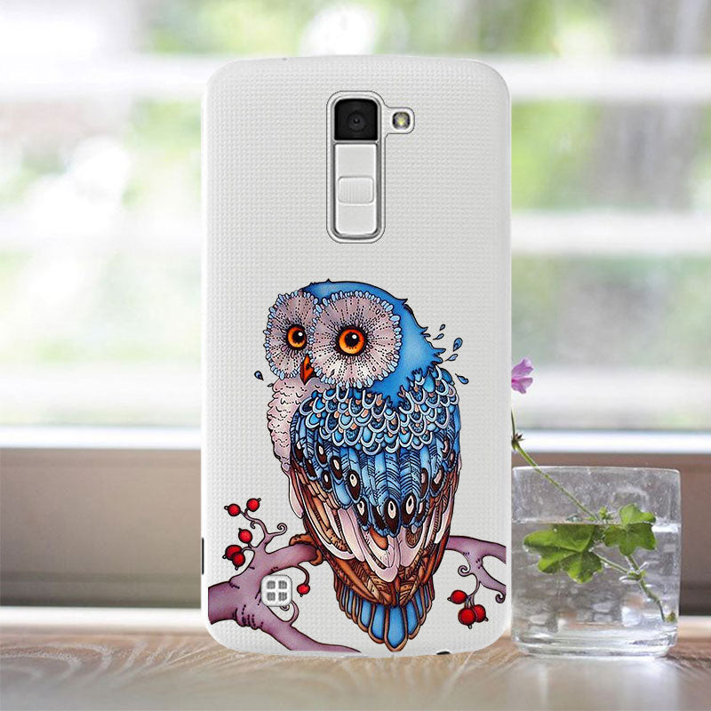For Capas LG K10 Silicon Case Soft TPU For Coque LG K10 K 10 LTE K420N K430 K430ds Cases Cover For Funda LG K10 2016 Phone Case