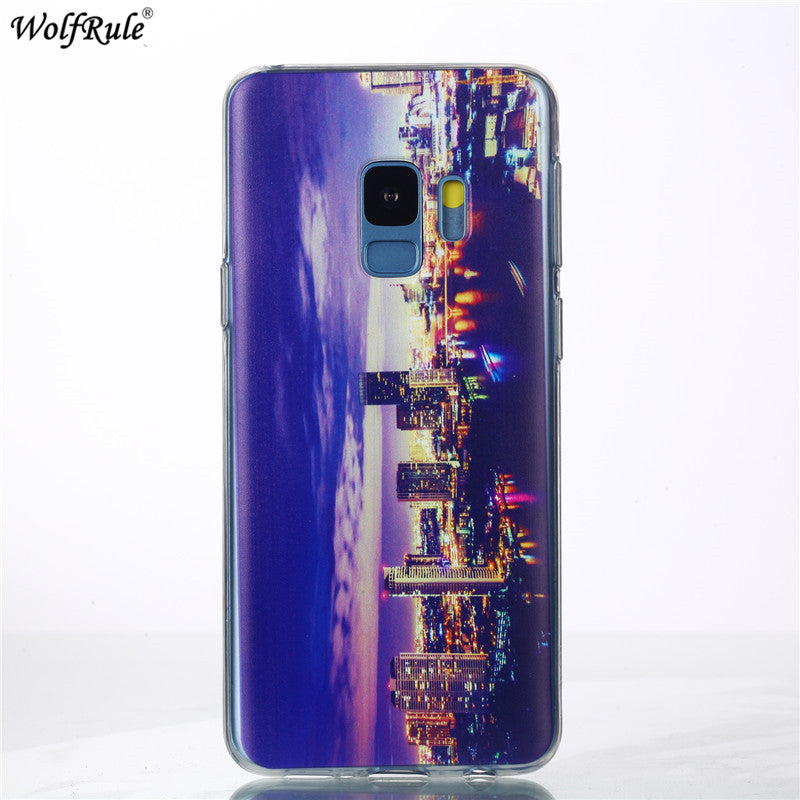 For Cover Samsung Galaxy S9 Case Soft Silicone Bumper Phone Case For Samsung Galaxy S9 Cover For Samsung S9 Fitted Cases 5.8''