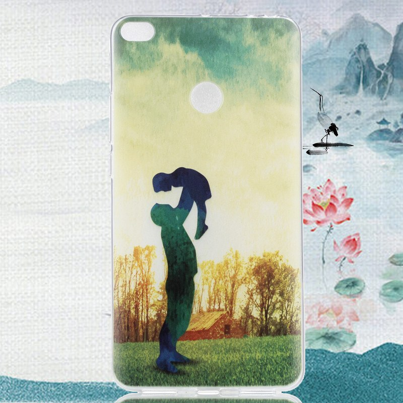 For Cover Xiaomi Mi Max 2 Case Shockproof Soft Silicone Phone Case For Xiaomi Mi Max 2 Cover Phone Bag Case 6.44'' WolfRule