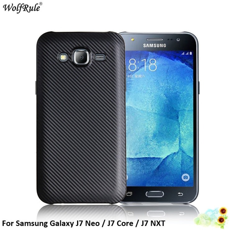 wholesale dealer 11f67 032a2 For Fitted Cases Samsung Galaxy J7 Neo Case Silicone Phone Case For Samsung  J7 Core Cover For Samsung J7 NXT Shell J701 5.5''