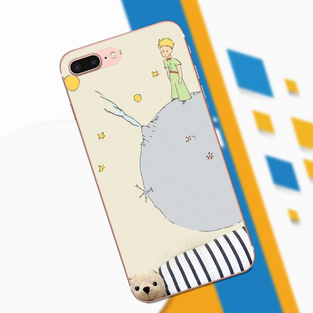 For Galaxy A3 A5 A7 On5 On7 2015 2016 2017 Grand Alpha G850 Core2 Prime S2 I9082 TPU Cases Cover Planet Little Prince