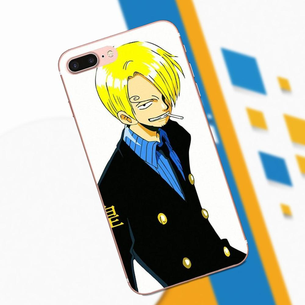 For Galaxy Grand Alpha G850 Core2 Prime S2 I9082 A3 A5 A7 On5 On7 2015 2016 2017 TPU Custom Phone One Piece Anime