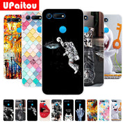 "For Huawei Honor View 20 / V20 6.4"" Printing Soft TPU Case Paterned Silicon Cover For Honor View 20 V20 - 6.4 Inch Back Shell"