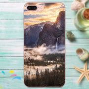 For Huawei Mate 7 8 9 10 20 P8 P9 P10 P20 P30 Lite Plus Pro 2017 Smartphone Phone Transparent Cases Wonderful Scenery