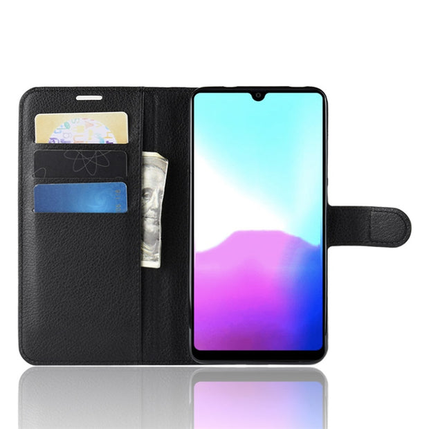 For Huawei P30/mate 20X/mate 20Pro/mate 20/Y9 2019/note 10/Mate RS PU+TPU Lychee Texture Flip Case/With Card Pocket/Kickstand