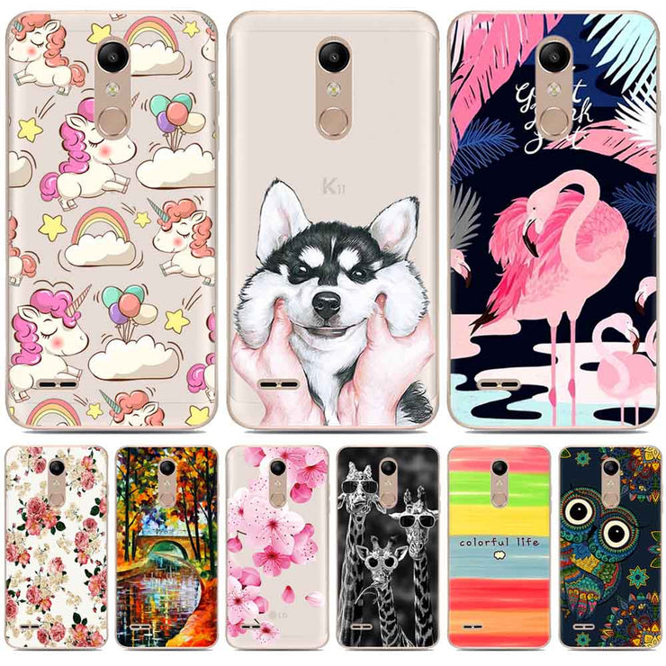 the best attitude 3a072 4f740 For LG K11 Case LG K11 2018 Case Silicone Clear Soft TPU Painting Unicorn  Flower Marble Case For LG K11 Cover Lg K11 Phone Cases