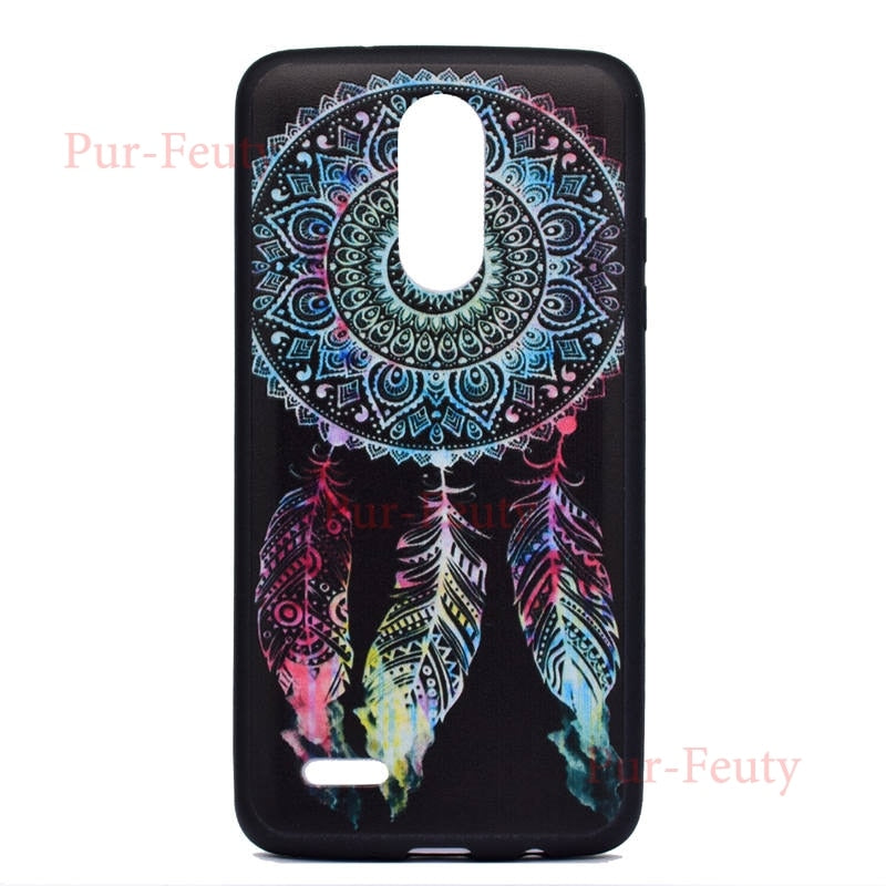 For LG K4 (2017) X230Z Case LG K4 2017 X230 Case Silicone Soft Tpu Phone  Case Back Cover For LG K4 2017 X230 M160 Dual Case 5 0