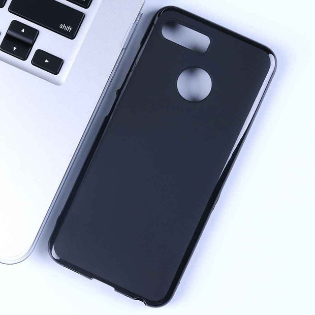For Lenovo K5 Play Case 5.7'' Black Soft TPU Silicone Phone Case For Lenovo K5 Play Cover L38011 Capa Back Shell Accessories