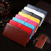 For Moto G7 Case Business Stand Flip Wallet Leather Phone Bag Case For Motorola Moto G7 Cover Capa Accessories