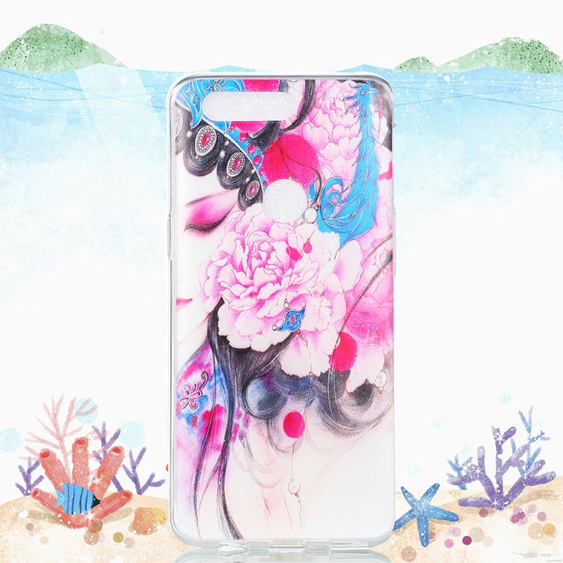 For Nokia 6.1 Case Soft TPU Pattern Cover Phone Bumper Case For Nokia 6 2018 Back Cover Funda Silicone Case For Nokia 6 2018