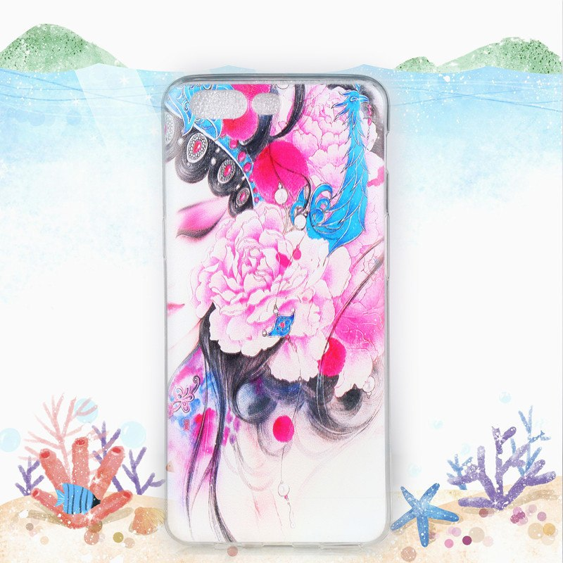 "For Oneplus 5 Case Soft TPU Pattern Case For Oneplus 5 A5000 Animal Cover Light Phone Shells Funda 5.5""HATOLY Phone Case"