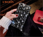 For Oppo A7 R15X RX17 Neo K1 RX17 PRO A7X Luxury Glitter Back Cover Crystal Bling Diamond Rhinestone Phone Case