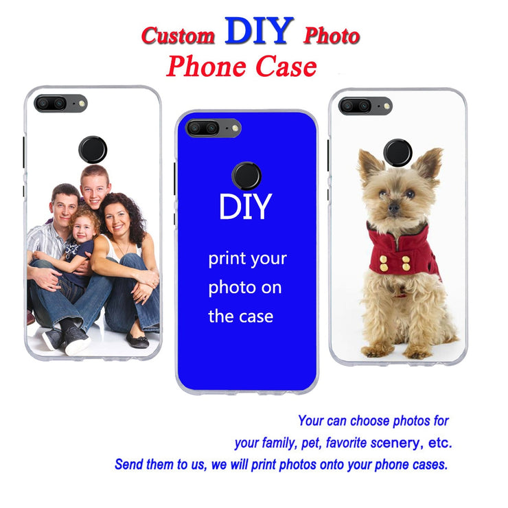 For Redmi Note 4 5 4X 5A 5 Plus S2 Y2 5 Pro Customized Picture Custom Made Photo Soft Edge Shock Proof TPU Silicone Case
