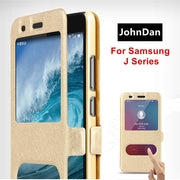 For Samsung Galaxy J1 J2 J3 J4 J5 J6 J7 J8 Duo Plus Pro 2018 2017 2016 Mini Prime Flip Case For Samsung J 1 2 3 4 5 6 7 8 Cover