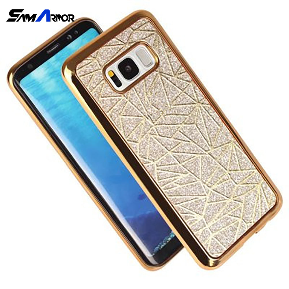 For Samsung Galaxy S4 S5 S6 S7 Edge S8 A3 A5 A7 J1 J3 J5 J7 2016 2015 2017 Grand Prime Phone Cover Luxury Glitter Bling TPU Case