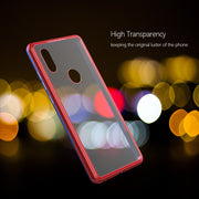 For Xiaomi MI MIX 2S Case Hard Slim Metal Bumper Magnetic Transparent Tempered Back Shockproof For Mi Mix2s Cases Fashion Cover