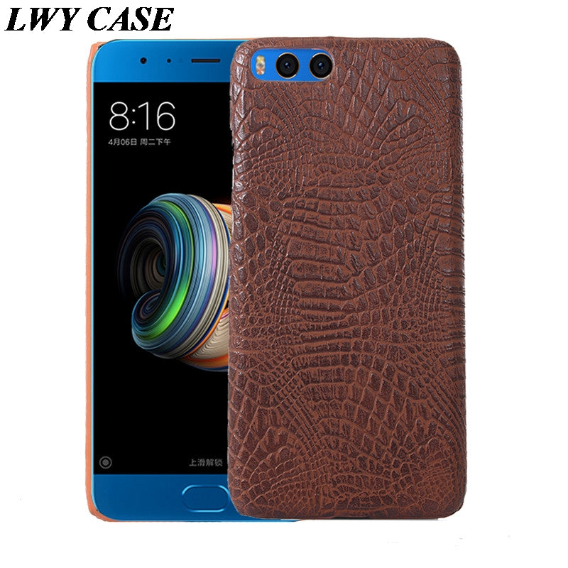 For Xiaomi Mi Note3 Note 3 / Note 2 / Mix 2 Mix2 / Max 2 Max2 Luxury Crocodile PU Leather Skin Hard Back Cover Case