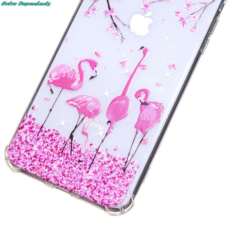 For IPhone 9 Plus Painted Ultra Thin Transparent Case For IPhone Xs 9 Xs Plus Luxury Soft Silicone Back Cover For IPhone Xs Case