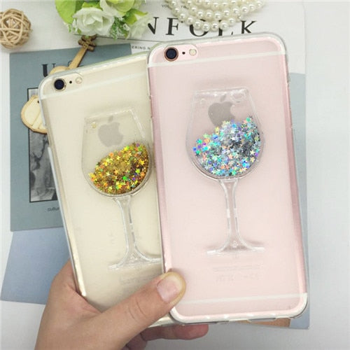 Glitter Quicksand Phone Cases For Motorola Moto C XT1750 XT1754 XT1755 Case Bling Cute Soft Silicon Back Cover 3D Capa Fundas