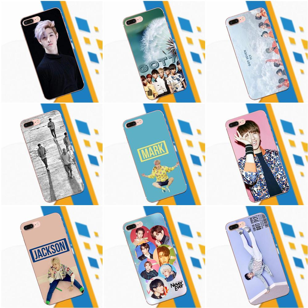 Got7 Kpop For Apple IPhone X XS Max XR 4 4S 5 5C 5S SE 6 6S 7 8 Plus Ultra Thin Back Phone Case