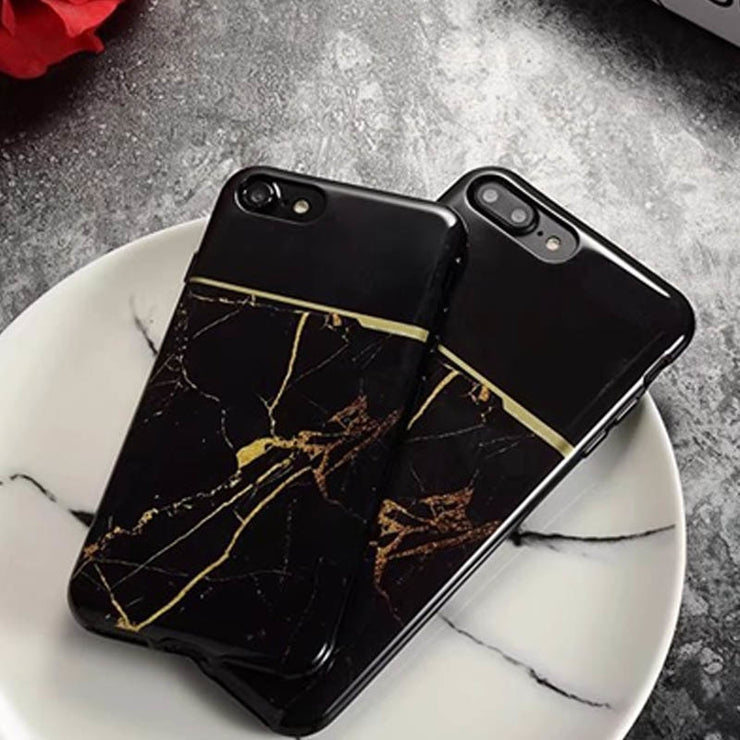 Granite Scrub Marble Stone Image Painted For Iphone 7 8 Plus Cases Scratch Resistant For Iphone X Case Back For Iphone 6 6s Plus