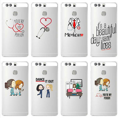 Greys Anatomy You Are My Person Soft Silicone Coque Cover For Huawei P8 P9 P10 P20 Lite P10 P20Plus 2017 Case