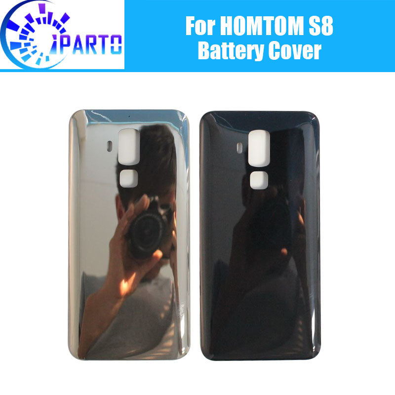 new concept 9ff83 5f345 HOMTOM S8 Battery Cover 100% Original New Durable Back Case Mobile Phone  Accessory For HOMTOM S8