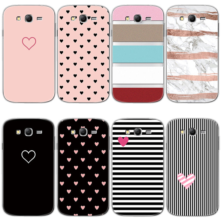 save off 2517b 0a5f1 Heart Love Soft For Fundas Samsung Galaxy Grand Neo Plus Case Silicone  Cover For Samsung Galaxy Grand Neo I9060 I9060i Case TPU