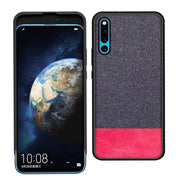 Honor Magic 2 Case Luxury Canvas Cloth With PU Leather Soft Silicone TPU Bumper Protective Cover For Huawei Honor Magic 2 Cases