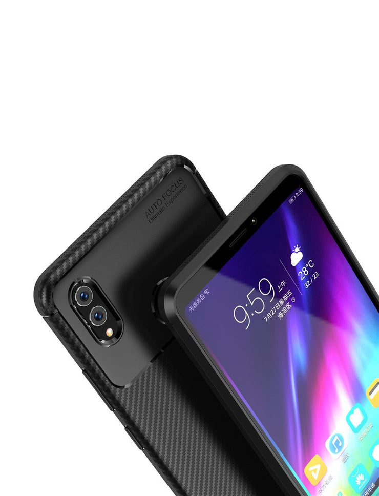 Honor Note10 Case For Huawei Honor Note10 Case Silicone Soft TPU Brushed Carbon Fiber Phone Cases For Hiawei Honor Note10 Cover
