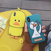 Hot Cartoon Animals Luxury Case For IPhone Xs Max 8 8Plus 7 7Plus 6 6Plus 6sPlus Cover Cases
