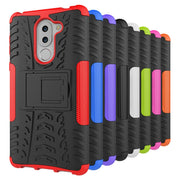 Huawei GR5 2017 Cases Kickstand Armor Duty TPU + PC Shockproof Case For Huawei GR5 2017 Covers Silicone Case