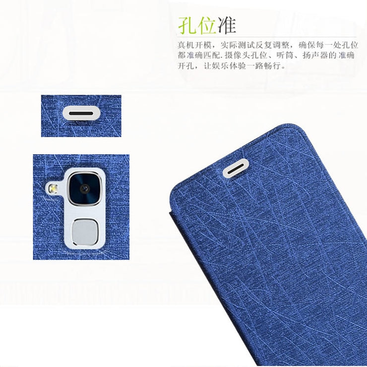 newest 4d79d ed503 Huawei GT3 Case Cover Super Thin Fashion Leather Flip Cover Phone ...