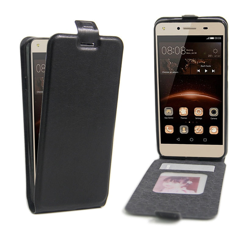 Huawei Honor 5A LYO-L21 Coque Open Up & Down PU Leather Flip Cases Capas Bag For Huawei Honor 5A Cover(Only For Russia Version)