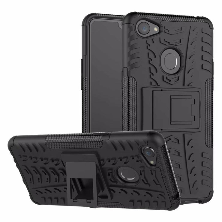 Hybrid Soft Cover+Hard Case For OPPO F7 Back Cover Shockproof Armor Cover Case For Oppo F7