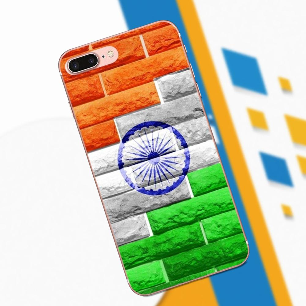 Indian National Flag Emblem Soft TPU Mobile For Xiaomi Redmi Note 2 3 3S 4 4A 4X 5 5A 6 6A Pro Plus