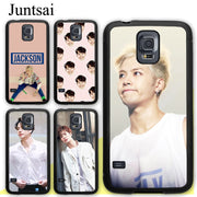 Juntsai GOT7 Kpop Jackson Soft Rubber Case For Samsung Galaxy S8 S9 Plus S5 S6 S7 Edge Note 8 4 5 Phone Cases