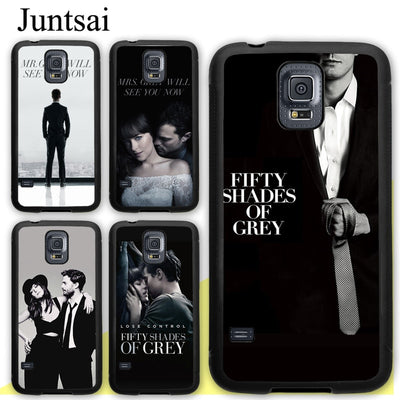 Juntsai Mr.Grey Will See You Now Fifty Shades Of Grey Rubber Case For Samsung Galaxy S8 S9 Plus S5 S6 S7 Edge Note 8 4 5 Cover