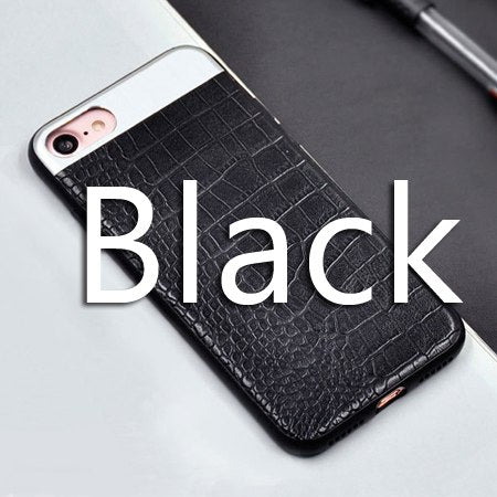 Black leather cover