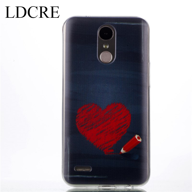 LDCRE For Cover LG K10 2017 Case Ultra-Thin Soft Silicon Phone Cover Case For LG K10 2017 Cover For LG K10 2017 Phone Bag Coque