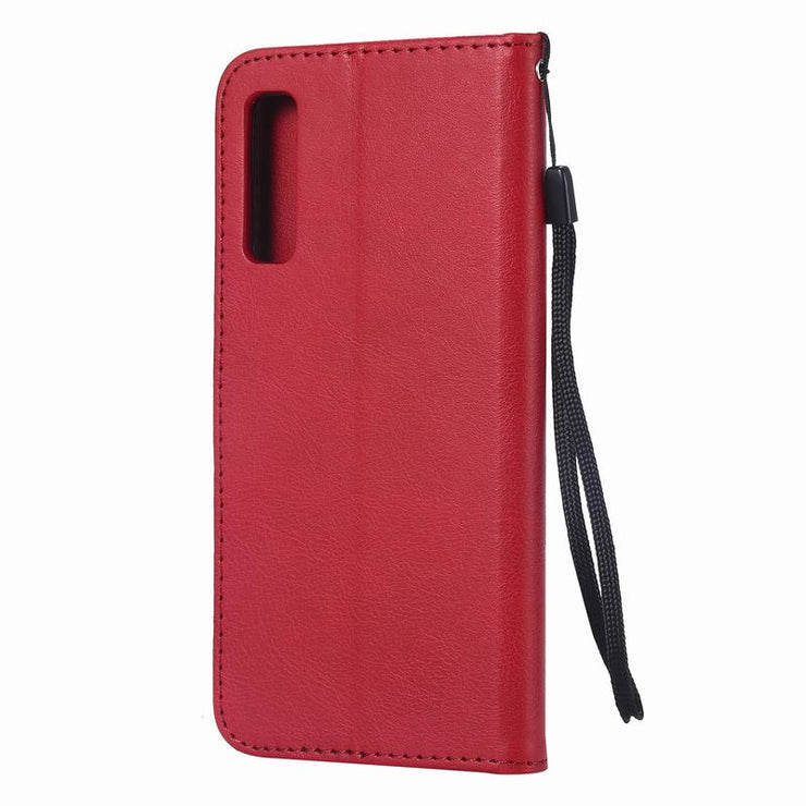 Leather Case For Samsung A7 2018 Flip Case Galaxy A7 2018 Cover 360 Coque Wallet Protective Phone Case A7 2018 A750 Funda Magnet